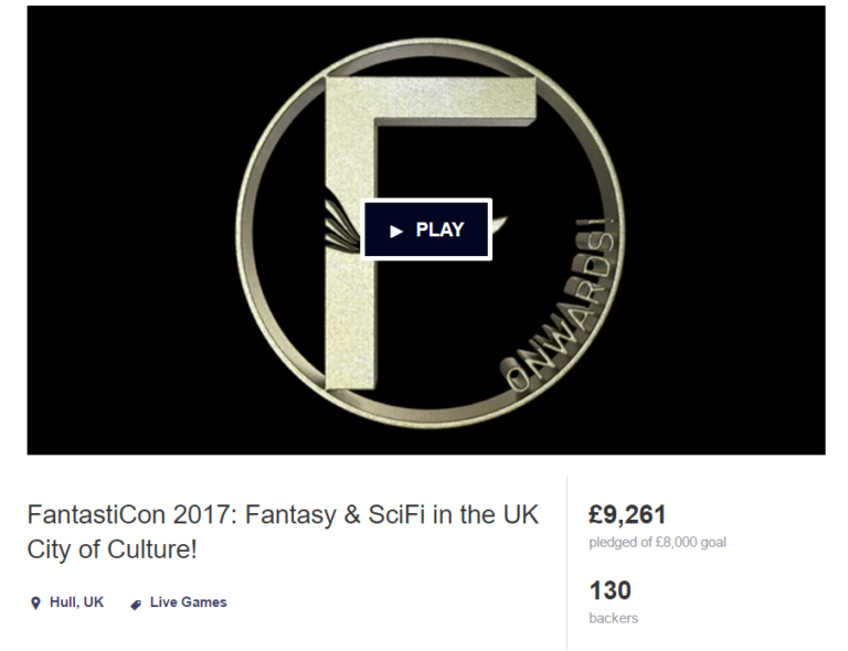 Interview: Fantasticon – Scifi, Fantasty, Gaming Event